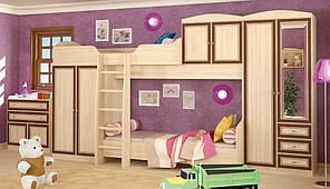 """Детская модульная мебель """"Дисней"""" от Мебель-Сервис. Комплект 1"""