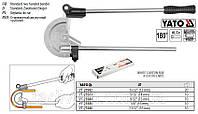 """Трубогиб 2-ручной YATO для алюм. и медных труб Ø= 23/32"""" (18 мм) под угол 0- 180° [10]"""