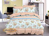 Комплект постельного белья полуторный 150х220, (4109) Ранфорс