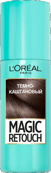 Спрей для закрашивания седых корней волос