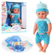 Пупс Baby Born BL014A. 8 функций, 9 аксуссуаров