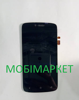 Модуль (сенсор+дисплей) для HTC G25, Z320e One S, Z560e One S чорний, фото 2