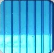 Синий 10 мм (2,1х6,0 м) Поликарбонат сотовый WinnPol (Винпол)