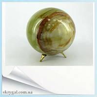 Шар из натурального камня Оникс (D -7 см)