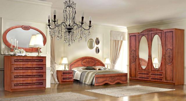 Модульная спальня Василиса яблоня