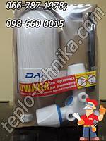 Электрический проточный водонагреватель DAFI хромированным смесителем 5,5 кВт.