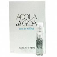 GIORGIO ARMANI Acqua di Gioia Eau de Toilette Туалетная вода 1,5 мл (пробник)