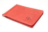 Зажим для купюр кожаный Grande Pelle (10421) (10223), фото 1