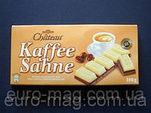 """Шоколад """"Chateau"""" Kaffee Sahne, двуслойный, белый с кофейным, 200г"""