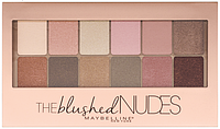 Maybelline Палитра теней Maybelline New York Тени для век The Blushed Nudes 12 в 1, 9.6 г