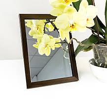 Зеркало в багете, зеркала настольные, зеркала настенные, зеркало с подставкой, 1611-16