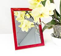 Зеркало в багете, зеркала настольные, зеркала настенные, зеркало с подставкой, 1611-20, фото 1