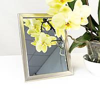 Зеркало в багете, зеркала настольные, зеркала настенные, зеркало с подставкой, 1611-32, фото 1