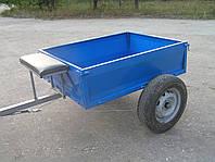 "Прицеп-самосвал для мотоблока ТМ ""Ярило"" разборный (125х100х35 см) под жигул. ступицу (без колес), фото 1"