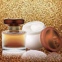 Подарочный набор Amber Elixir парфюм и крем для тела