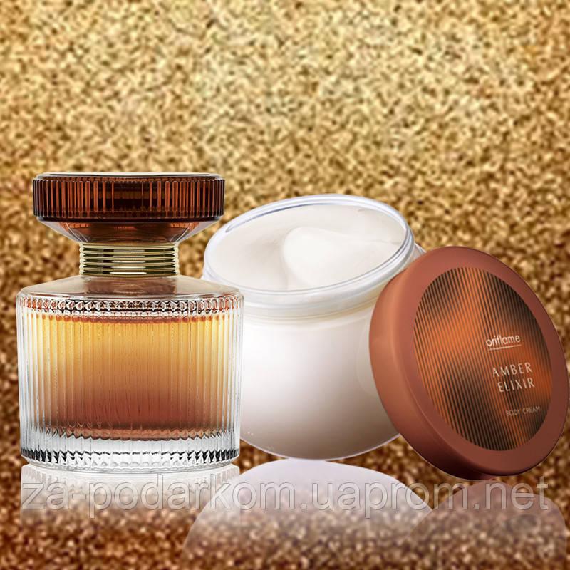 духи Amber Elixir на подарок в категории парфюмерные наборы на