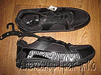 Кроссовки Original League черные со вставками