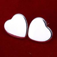 """Серьги в стиле Tiffany """"Тающее сердце"""""""