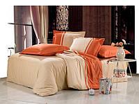 Однотонное сатиновое постельное бельё Valtery OD-11 CB22
