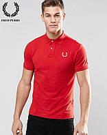 Поло футболка красная Fred Perry
