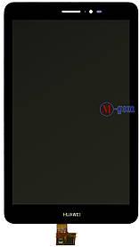 Дисплейный модуль Huawei MediaPad S8-701 черный