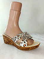 Шлепанцы женские ALSHERA 38, тигровый