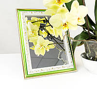 Зеркало в багете, зеркала настольные, зеркала настенные, зеркало с подставкой, 3020-36, фото 1