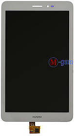 Дисплейный модуль Huawei MediaPad S8-701 белый