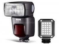Фотовспышки, Metz 52 AF-1 C + LED 160 KIT Canon