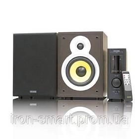 Колонки 2.0 Microlab PRO 2 Wooden, сателлиты 2 x 35 Вт, МДФ, питание от сети 220V, управление спереди