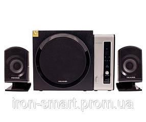 Колонки 2.1 Microlab FC-550 Black, сателлиты 2 x 15 Вт, сабвуфер 24 Вт, МДФ/ пластик, питание от сети 220V, управление спереди + пульт ДУ