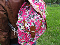 Молодежный рюкзак Цветы, фото 1