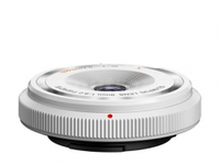 Объективы, Olympus Body Cap Lens 9mm 1:8.0 bialy
