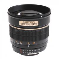 Обьективы, обьектив для фотоапарата, Samyang, 85mm, f/1.4, IF, MC, Sony, E