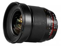 Обьективы, обьектив для фотоапарата, Samyang, 16mm, f/2.0, ED, AS, UMC, CS, Pentax, K