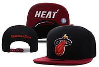 Кепка с прямым козырьком NBA Miami Heat Z-10640-1