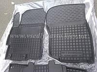 Передние коврики MITSUBISHI Lancer X с 2007 г. (Автогум AVTO-GUMM)