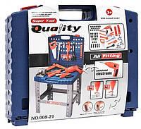 Игрушечный набор инструментов 008-21 в чемодане