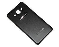 Накладка полиуретановая с металлической задней крышкой Samsung Galaxy A5 / A500, black