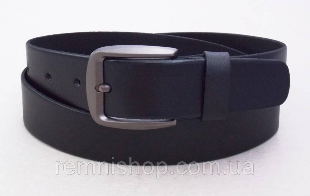 Кожаный мужской ремень King Belt для джинс