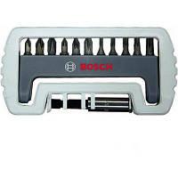 Набор бит 12шт с быстрозажимным держателем Bosch (2608522130)