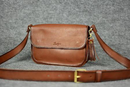 Женская сумочка «BerTy» |11298| Италия | Коричневый