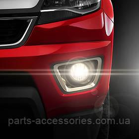 Chevrolet Colorado 2015-2017 туманки протитуманні фари в бампер Новий комплект