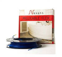 Теплый пол MILLICABL FLEX 15 375 Вт, 24,7 м на 2 кв.м (тонкий нагревательный кабель)