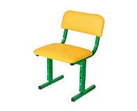 Детский стульчик 29х26 см. h=26/34 см. Регулируемый, Мягкий, Искусственная кожа