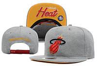 Кепка с прямым козырьком NBA Miami Heat Z-10640-8