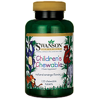 Swanson Premium Children's Chewable Multivitamin детские витамины основные 120 шт