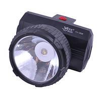 ✅ Налобный фонарь YJ-1836-1LED (светодиодный, аккумуляторный)