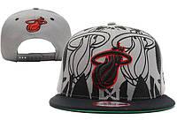 Кепка с прямым козырьком NBA Miami Heat Z-10640-12