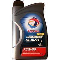 Трансмиссионное масло Total transmission Gear 8 75W-80 1л TL 201278 (TL 201278)